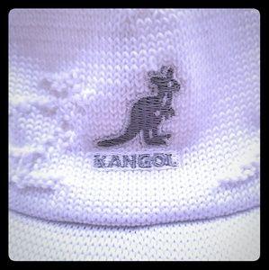 Vintage White Kangol Ventroo Spacecap